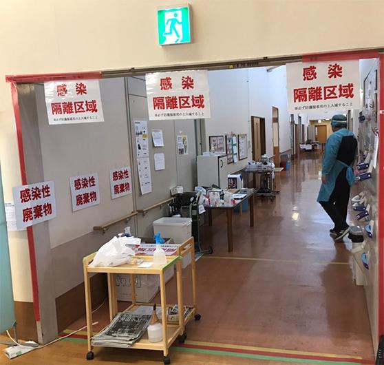 熊本「桜の丘」クラスター支援 加藤看護師からのレポート