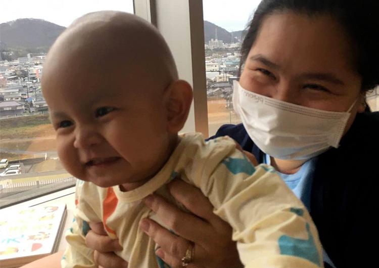 無事に手術を終えました!– 小児がん患者さん来日治療プロジェクト