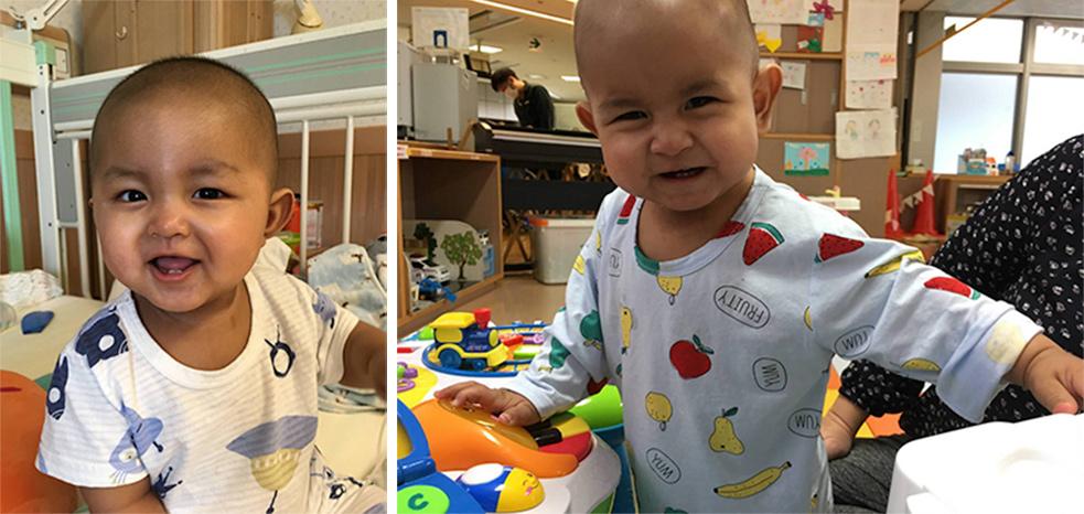 小さな2つの命を無事に救うことができました。 – 小児がん患者さん来日治療プロジェクト