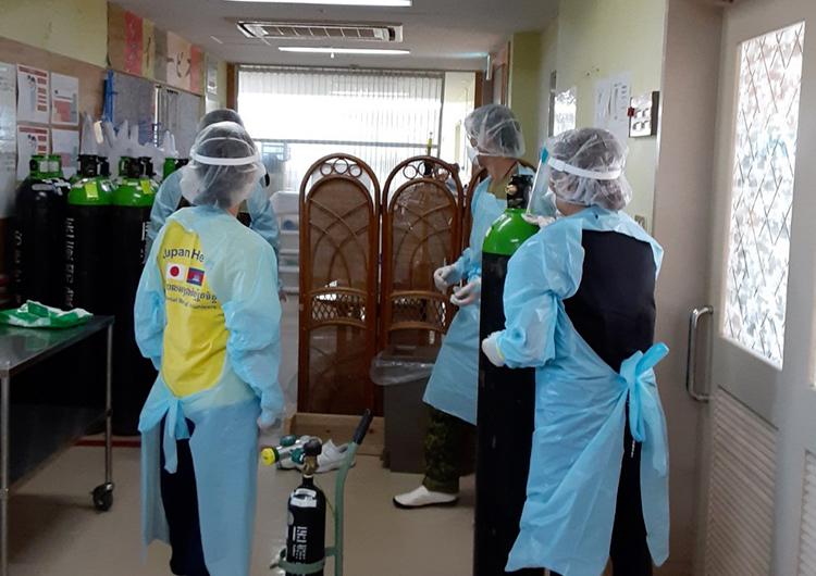 宮古島 高齢者施設クラスター支援 ジャパンハート 看護師