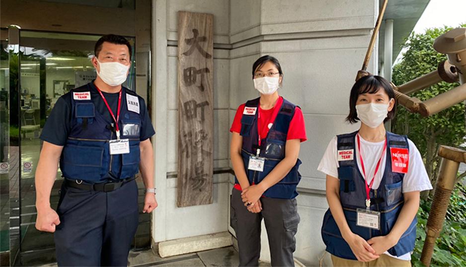 ジャパンハート、令和3年8月豪雨災害で佐賀県武雄市および大町町へ医療チームを派遣